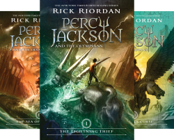 Percy Jackson Series book cover