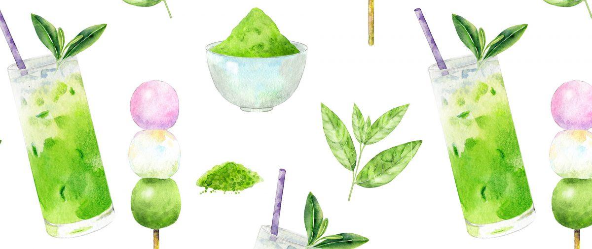 dango and green tea