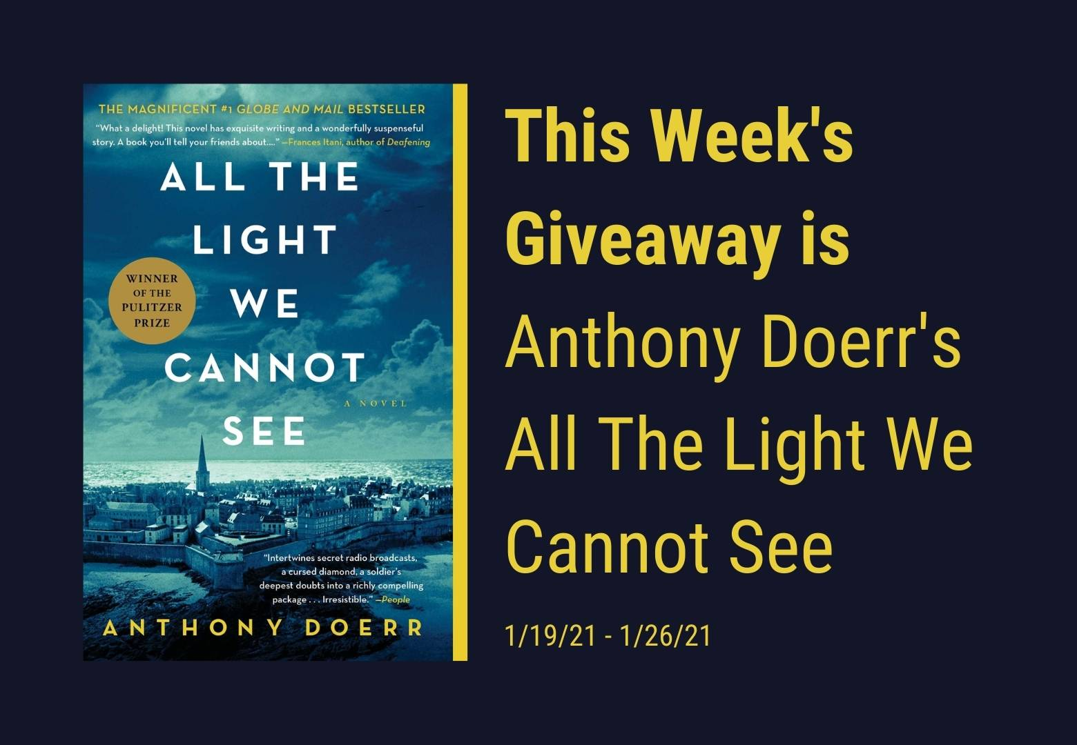 all the light we cannot see giveaway