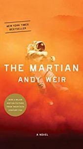 Suspense and Thrillers The Martian book cover