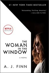 suspense and thriller The Woman in the Window book cover