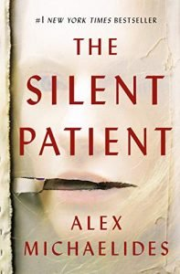 suspense and thriller the silent patient book cover